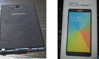 Утечка информации о Samsung Galaxy Note 4 в полном объеме
