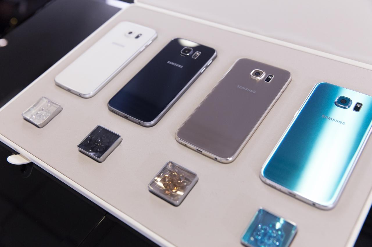 Samsung galaxy s7 цвета корпуса