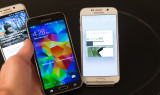 Черный и белый Samsung Galaxy S6