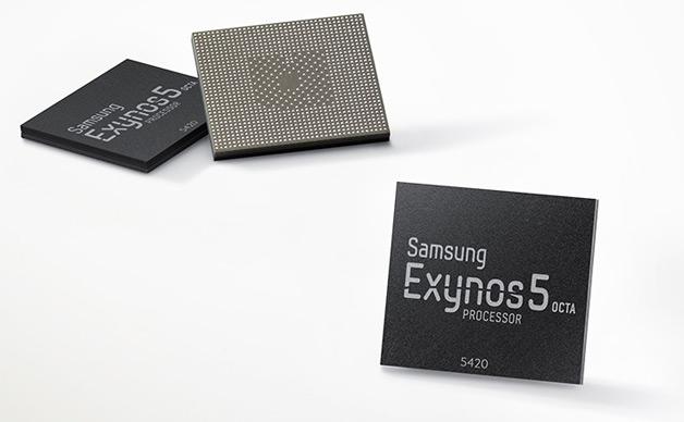 Galaxy Note 4 обладает Exynos 5 процессором, но S6 будет работать на версии серии 7. / © Samsung