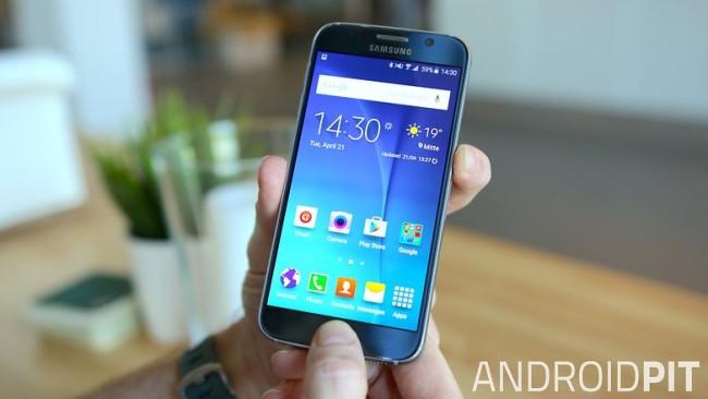 Как сделать скриншот на Samsung Galaxy S6 с помощью аппаратных кнопок